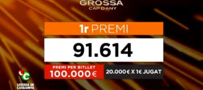 El Gordo de Lotería de Fin de Año separatista no ha tocado a nadie, Artur Mas se quedará con todo el dinero - copia