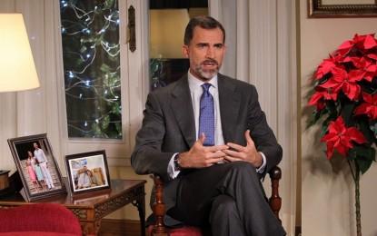 """Texto completo del primer """"Mensaje de Navidad de Su Majestad el Rey"""", Felipe VI"""