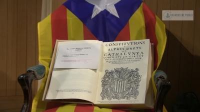 Borrado de la Constitución separatista Catalana presentada este sábado /Foto Joseph A. 'Lasvocesdelpueblo'