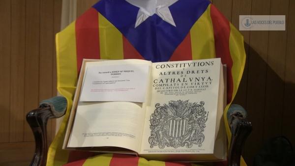 """Artículo 1.2 Constitución separatista Catalana: """"La soberanía recae en el pueblo de Cataluña"""", 'una nova constitució'"""