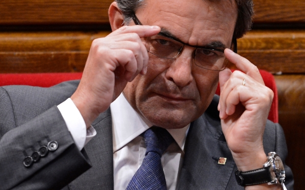 """Artur Mas contratará este año """"170 profesionales"""" para construir la 'Agencia Tributaria Propia' separatista"""