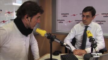 Amadeu Altafaj Tardio durante su entrevista con Manuel fuentes, Foto imágenes TV3