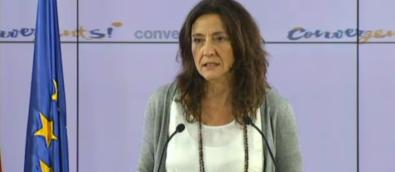 """La portavoz del Partido del Gobierno catalán, Mercè Cornesa, asegura que CIU no convocará """"elecciones de manera inmediata"""" si eso supone """"el fracaso del proceso"""" separatista."""