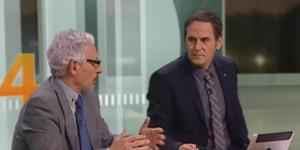 El magistrado ultra separatista, Santiago Vidal durante su entrevista en 2324 de TV3