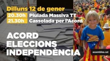 """Campaña ANC, """"'Acuerdo, Elecciones e Independencia"""""""