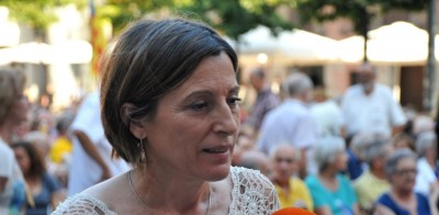 Foto Líder ultra separatista radical excluyente, Carme Forcadell. Foto ANC