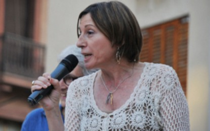 "Forcadell asegura que habrá ""un nuevo Parlamento"" catalán constituyente esta primavera, ""gracias a ti"""