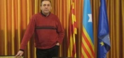 Alcalde de San Feliu de Pallerols Casas Carreras, Foto Ayto. S. F. Pallerols