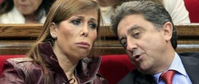 Alicia Sánchez Camamcho y su secretario , Enric Millo Rocher, foto EFE