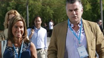 Exministra del PP, Ana Mato, y el extesorero del PP, Bárcenas / foto M. Lorenzo