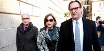 La presidenta del Parlamento catalán se une de urgencia a la reunión secreta separatista de esta noche - copia