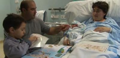 Noelia es el primer bebé español del año 2015, nacido cuando pasaban 32 segundos de las 12 horas de anoche - copia