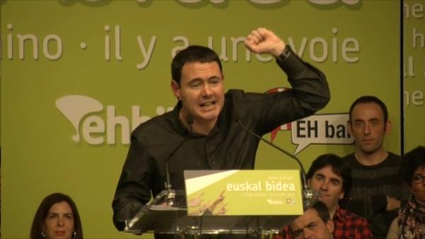 """Proterroristas vasco, Eh Bildu y Eh Bai: """"apostamos por una vía unilateral y desobediente hacia la independencia"""" de Las Vascongadas"""