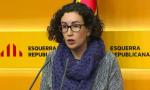 ecretaria general de ERC, ayer 09 de enero 2015