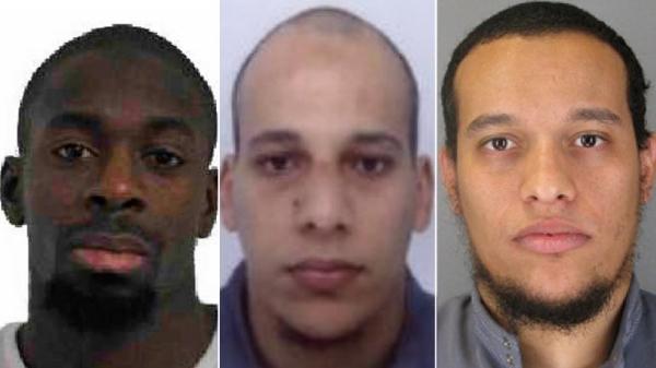 """Terroristas de de París: """"somos de Al Qaeda"""", y el negro: """"Yo soy del Estado Islámico de Irak"""", antes el asalto"""
