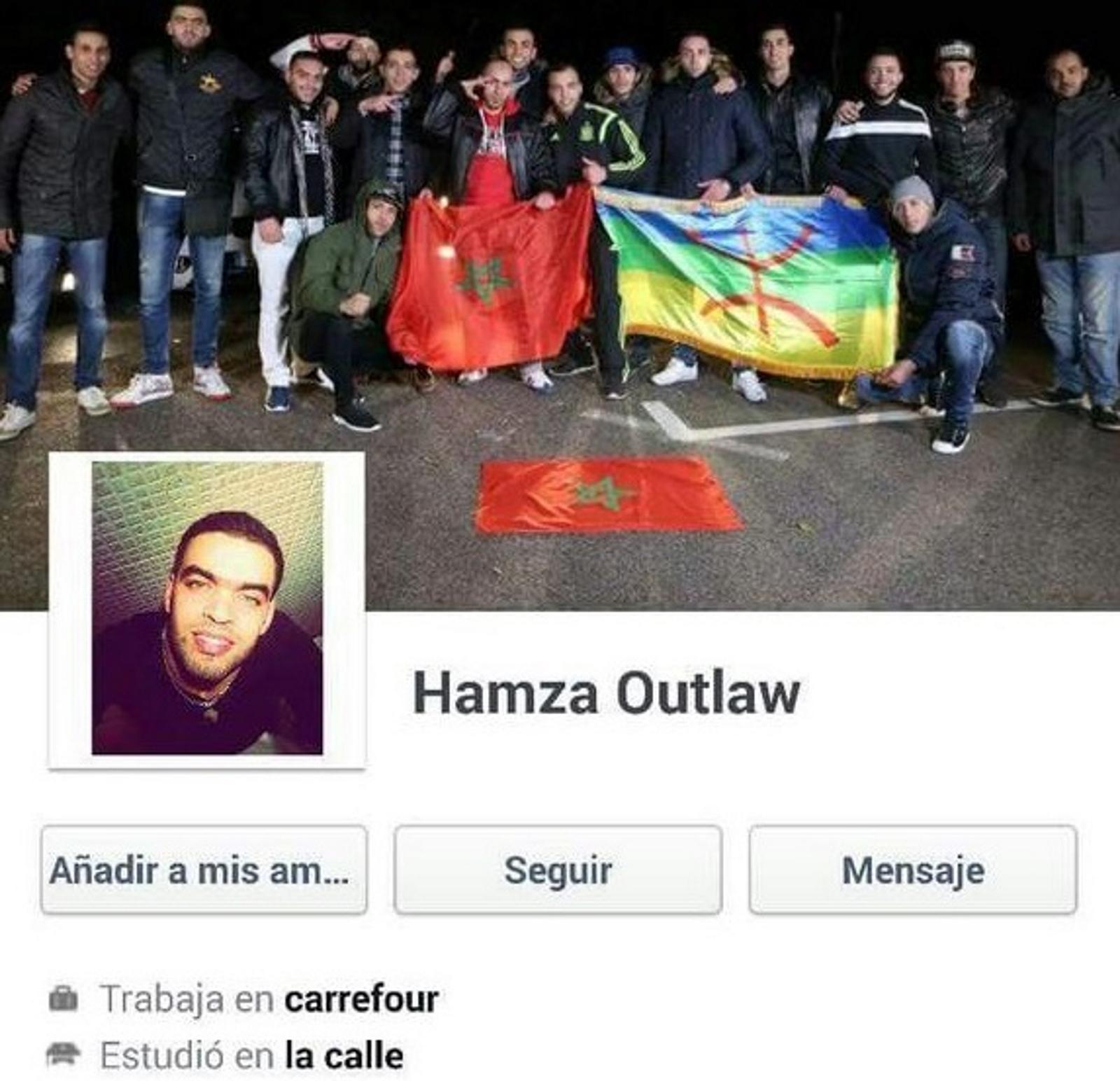 """Un marroquí, """"trabajador de Carrefour"""", se felicita por el brutal asesinato del agente de Policía Nacional, Fco. J. Ortega"""