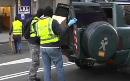 Varios cómplices detenidos en una operación de la Guardia Civil contra los malos de ETA-EPPK