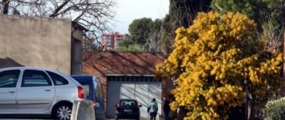 Lugares donde se encontró la víctima herida de gravedad / foto ACN