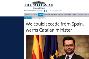 Artur Mas declarará unilateralmente la independencia de Cataluña si el Gobierno español niega negociar