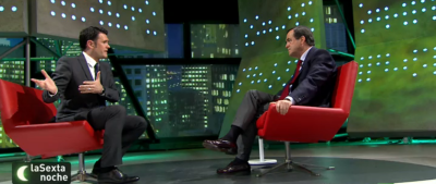 El expresidente castellano-Manchego del PSOE, José Bono, durante su entrevista / Foto imágenes 'LaSextaNoche'