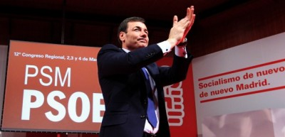 Tomás Gómez Franco, exel presidente de la federación madrileña del Partido Socialista Obrero Español en Madrid, PSM, / foto PSOE