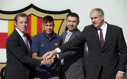 A un paso del banquillo en el Tribunal por mafiosos: Neymar, sus padres, Bartomeu, Rosell y FC Barsa