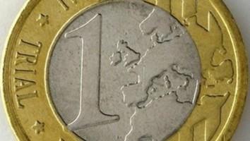 Euro falsificado por el Gobierno separatista catalán de Artur Mas Gavarró. / Foto TV3