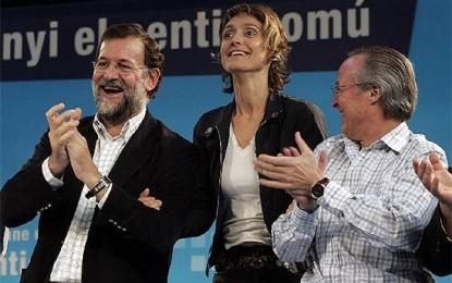 La exseparatista del PP, Nebrera, se lo piensa y renuncia encabezar la candidatura separatista de Artur Mas en S. Justo Desvern