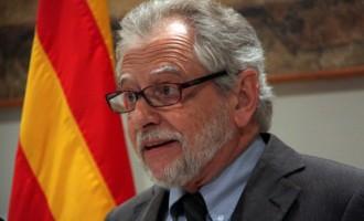 El nuevo Comisario para la Transición Nacional de Cataluña, Carles Viver Pi-Sunyer, presidente del Consejo Asesor para la Transición Nacional de Cataluña (CATN)