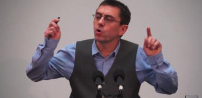 Monedero desarticula los ataques del PP contra Podemos con pruebas y datos y, presenta una denuncia contra Montoro.