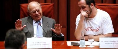 Pujol se niega a declara y acusa a Cataluña de atacarle con dicen, dicen, dicen y se muestra orgulloso,