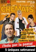Cartel de la nueva obra de teatro de Willy Toledo, 'CREMATS'