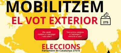 ANC pretende con una campaña, movilizar el voto de españoles en el extranjero solo por la opción independentista - copia
