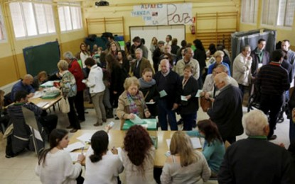 Aumenta la participación de 4 puntos en las elecciones en Andalucía, 33,9% del electorado andaluz a las 14:00