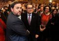 """CIU, ERC, Reagrupamiento ANC, AMI y Ómnium firman el """"preacuerdo de Hoja de Ruta unitaria"""" separatista"""