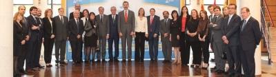 Discurso de Felipe VI en el acto de constitución del Comité de Honor de Juegos Mediterráneos Tarragona 2017.