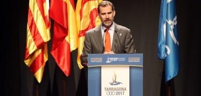 Discurso de Felipe VI en el acto de constitución del Comité de Honor de Juegos Mediterráneos Tarragona 2017