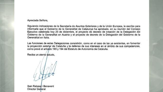 El PP lo sabía todo y lo quiso callar, tal como consta en la carta de Artur Mas dirigida a Rajoy sobre Estructuras de Estado separatista.