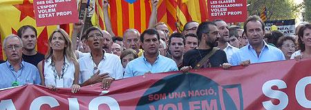 El fundador del Partido extremista catalán (SI) podría ser el nuevo presidente de FC Barcelona..