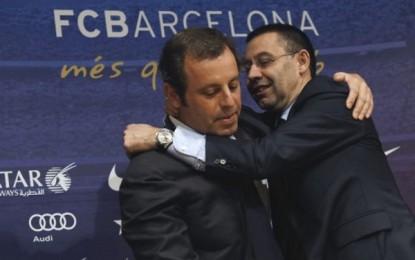 Fiscal pide 2 años de cárcel para el delincuente separatista Bartomeu y 7 para Rosell por el  fichaje de Neymar