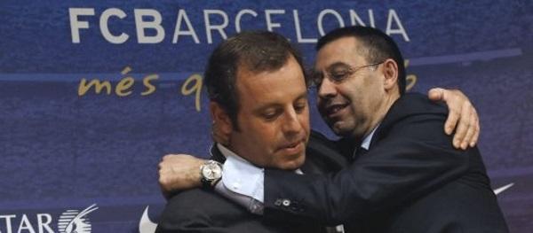 Fiscal pide 2 años de cárcel para el delincuente separatista Bartomeu y 7 para Rosell por fichaje Neymar - copia