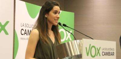 Hernández dimite como presidenta de VOX Barcelona y VOX Nacional le pide seguir en el cargo - copia