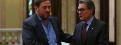 Junqueras entra oficialmente al Gobierno catalán para prepara la desconexión con España - copia