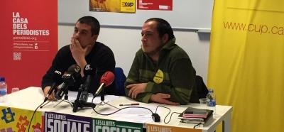 La CUP aprueba su hoja de ruta con la Declaración Unilateral de Independencia de Cataluña y un plan de emergencia social .