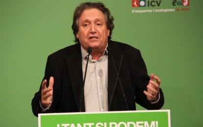 La corriente separatista de ICV se constituye con el nombre 'Compromiso por la Independencia'