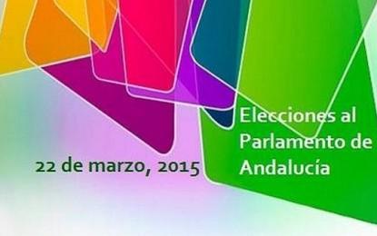 La participación sube brutalmente al 51,31 %, cuatro puntos más que en 2012 en las elecciones andaluzas