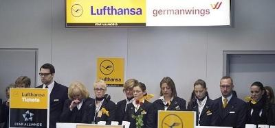 Lufthansa y de Germanwings firman conjuntamente una Carta de Pésame por el asesinato de 150 personas. - copia