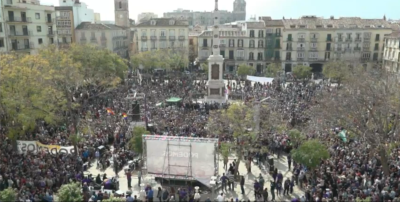 Pablo Iglesias ¡Viva las Fuerzas Armadas, Viva la Guardia Civil, Viva los agentes de Policía! de España.,