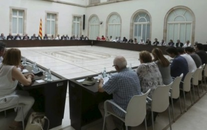 Primer fracaso de la reunión antiespañola del 'Pacto del Derecho a Decidir' separatista catalán gracias al rechazo de ICV