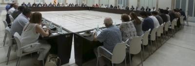 Primer fracaso de la reunión antiespañola del 'Pacto del Derecho a Decidir' separatista catalán gracias al rechazo de ICV - copia